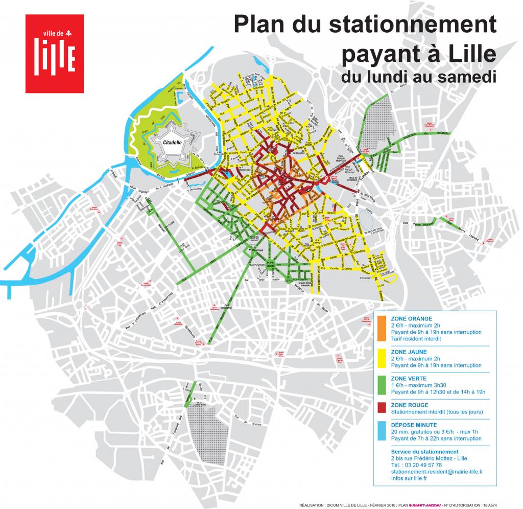 NovAccess - se garer en ville, Ville de Lille