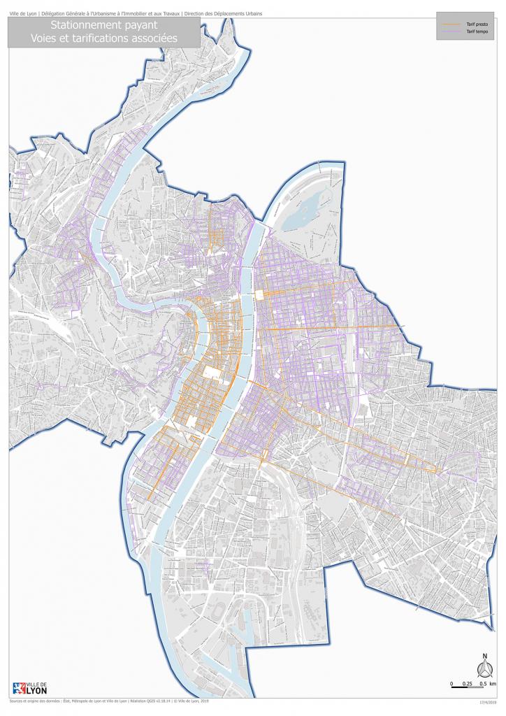 NovAccess - se garer en ville, Ville de Lyon
