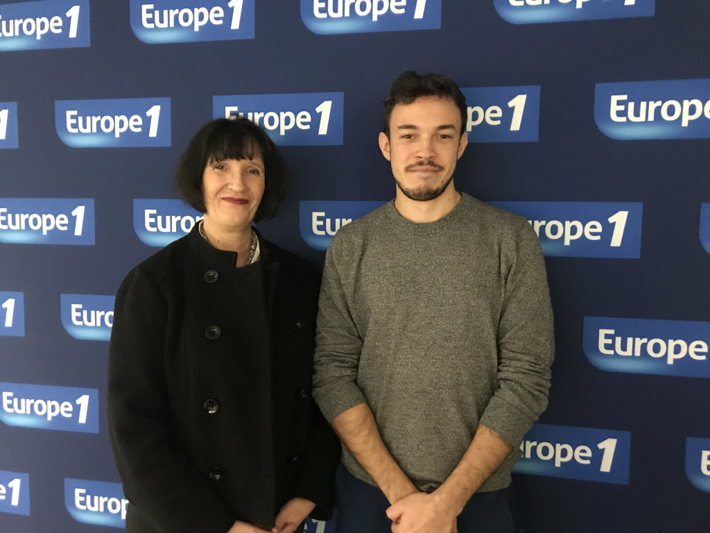Novaccess à Europe 1 - La France Bouge Académie