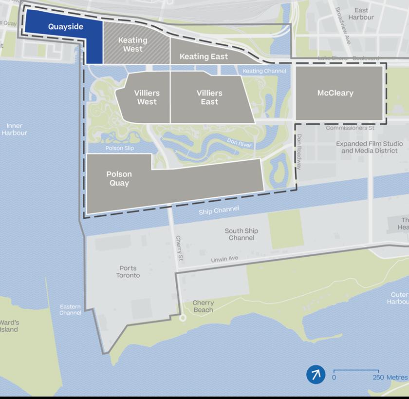 Toronto, quayside projet Google d'integration Smartcity sur un quartier complet